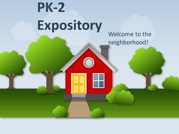 Expository (Grades PK-2) course image